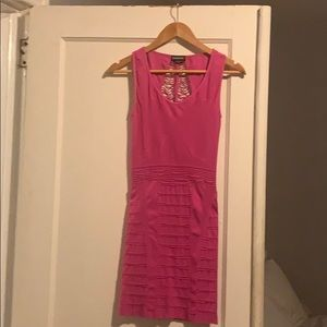 Bebe Bodycon Dress Sz. M in hot pink